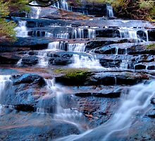 Tumbling Water by Terry Everson