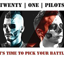 Twenty One Pilots - Pick Your Battle by imakitchensink