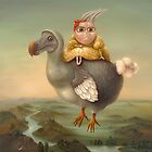 Flying Dodo.  80 x 68 cm   2011 by Irena Aizen