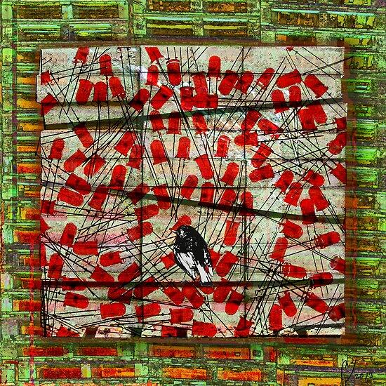 Bird on Wire by Maraia