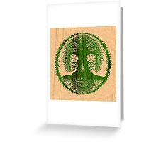 Skulltree, Tree of Life (romkaláh) Greeting Card