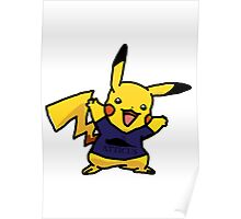 Punk Pikachu Poster