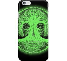Skulltree, greenglow (romkaláh) iPhone Case/Skin