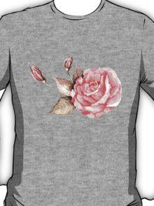 Watercolor rose T-Shirt