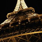 Under the Iron Lady-copyright Tour Eiffel-illustrated by theSmileEffect by TheSmileEffect
