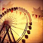 Ferris Wheel Double nr.4 by lucie richter
