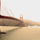 Foggy Golden Gate Bridge, San Fransisco by Prettyinpinks