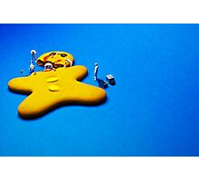 Who killed Ginger? Photographic Print