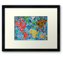 Whirl around the World! Framed Print