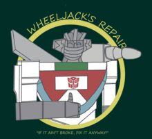 Wheeljack's Repair Shop by Shadowelecman