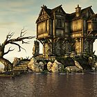The Medieval House on The Sea by Liam Liberty
