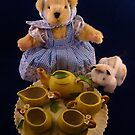 Teddy Tea Party by Barbara Morrison