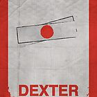 Dexter minimalist poster by thegDesigns