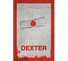 Dexter minimalist poster Photographic Print