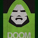 DOOM Minimalism poster by thegDesigns