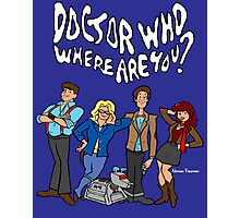 """""""Doctor Who, Where Are You?"""" Photographic Print"""