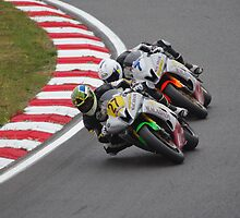 #27 Bjorn Estment (RSA) #7 Deane Brown (GBR) - Appleyard/Macadam Yamaha 600 - Supersport 600s 2013 Brands Hatch by motapics