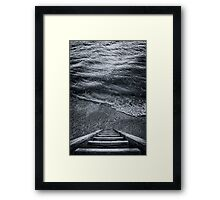 The Way to Unknown Framed Print