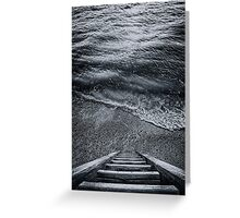 The Way to Unknown Greeting Card