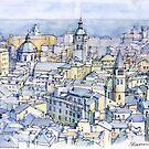 Il Centro Storico di Genova by Luca Massone  disegni