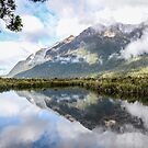 Mirror Lake   New-Zealand by 29Breizh33