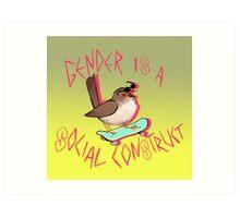 Rad Bird Art Print