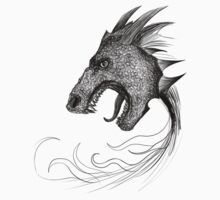 Dragon Illustration [for light coloured shirts] by sebabybaby