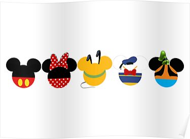 Mickey mouse clubhouse border