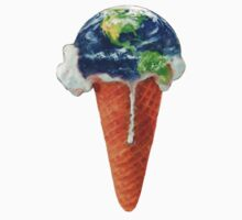 Ice Cream Global Warming by mike levinson