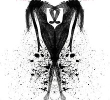 Ink Blot Ladies 02 by knkoehler