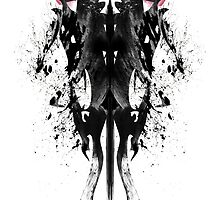 Ink Blot Ladies 10 by knkoehler