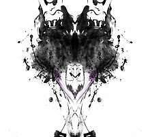 Ink Blot Ladies 11 by knkoehler