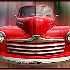 """Little Red - 1947 Ford Pickup Truck by Michael """" Dutch """" Dyer"""