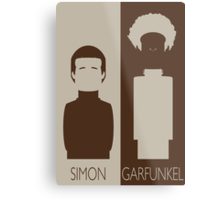 Simon and Garfunkel Metal Print