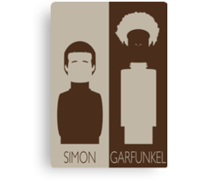 Simon and Garfunkel Canvas Print