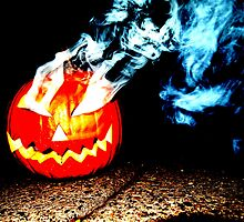 Smoke Bomb Pumpkin - White by Hallowaltz