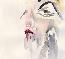 Watercolour Woman by charBIRCH