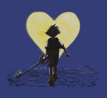 Kingdom Hearts Sora Walking by Jeffrey Rogers