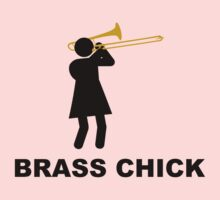 Brass Chick Trombone by FrenchHornGirl