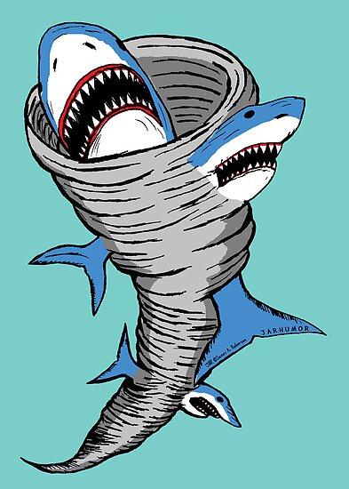 Shark Tornado by jarhumor