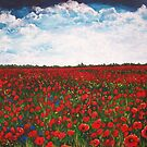 Among the Poppies by Sally Ford