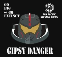 Gipsy Danger Pan Pacific Defense Corps by omadesign