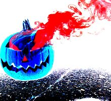 Smoke Bomb Pumpkin - Inversion by Hallowaltz