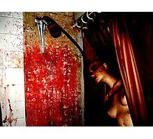 The Shower Scene Photographic Print