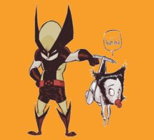 Wolverine and Baby Wolverine by NeosporinSwag