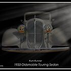 "Rum Runner - 1933 Oldsmobile Touring Sedan by Michael "" Dutch "" Dyer"