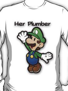 Mushroom Kingdom Couple: Luigi Shirt T-Shirt