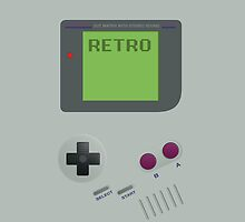 Retro GameBoy by Alex Boatman