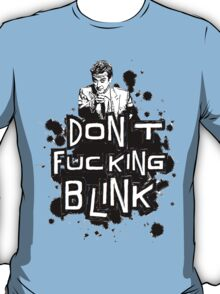 peter capaldi don't blink T-Shirt