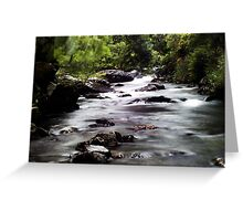 Nanmor Valley Greeting Card